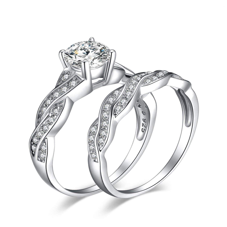 Cubic Zirconia Simulated Diamond Anniversary Promise Wedding Band