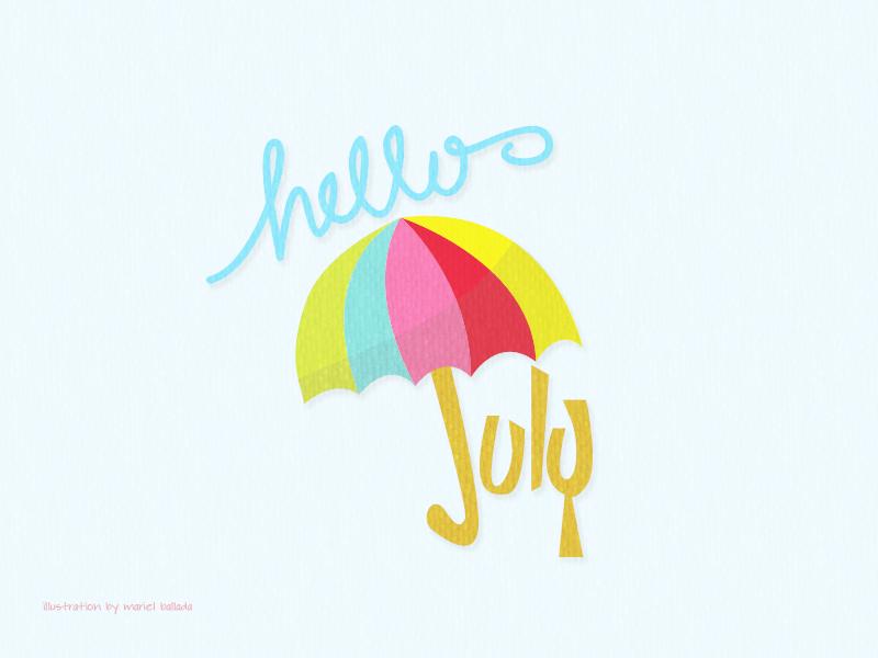 Hello July! :)
