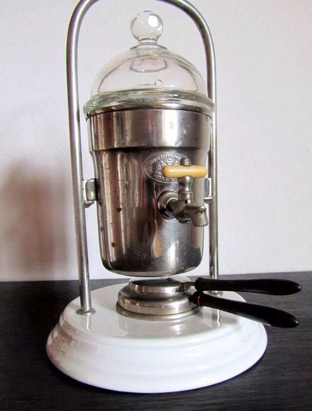 Julius Meinl Kaffeemaschine um 1900 mit Spiritusbrenner
