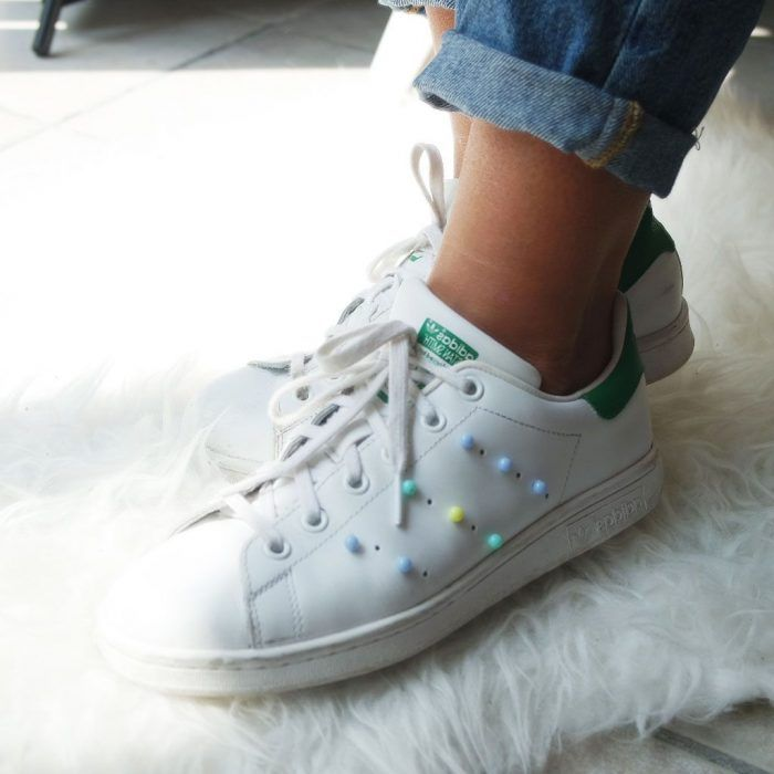 promo code a5bf2 93259 comment customiser ses chaussures nike stan smith  stansmithdiy  diy   dotiyourself  sneakershack
