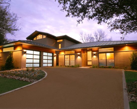 Beautiful Contemporary Modern Exterior Ranch Remodel Ranch Style House Designs