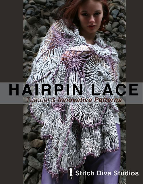 Hairpin Lace: Tutorial & Innovative Patterns | Pinterest ...