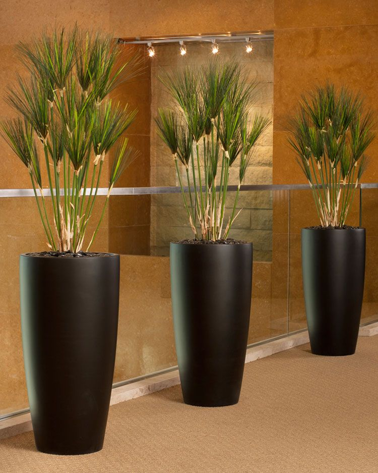 Office Decorating Made Easy with Silk Plants Realistic
