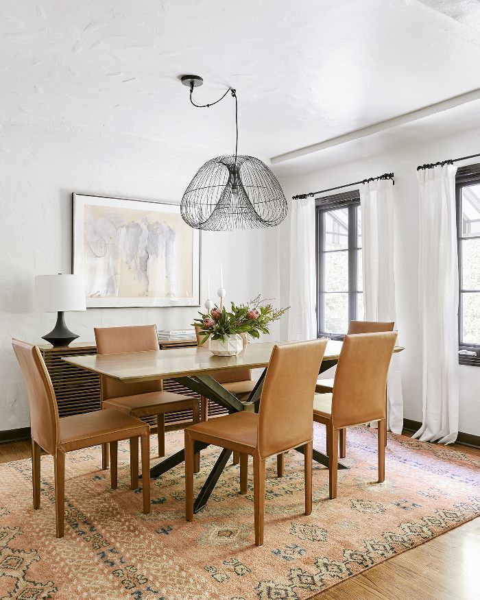 16 Absolutely Gorgeous Mediterranean Dining Room Designs: A 1920s Spanish-Style Bungalow Gets A $120K Makeover—Step