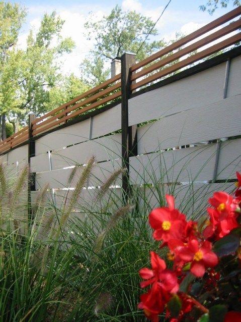 Woven Hardi Plank Fence Fence Diy Fence Modern Fence