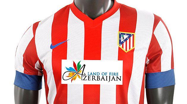 El Atlético estrena patrocinador en el derbi