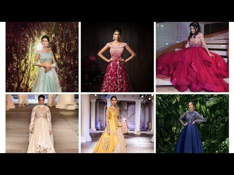 dbefe5394d Beautiful 😍 party wear designer dresses by shyamal   bhumika - YouTube