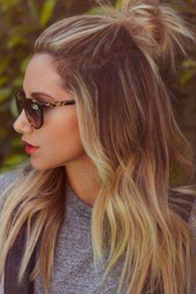 Peinados recogidos de moda 2017 mujeres