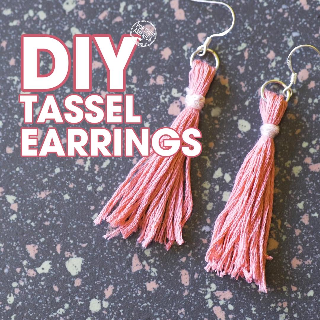 Photo of DIY Tassel Earrings
