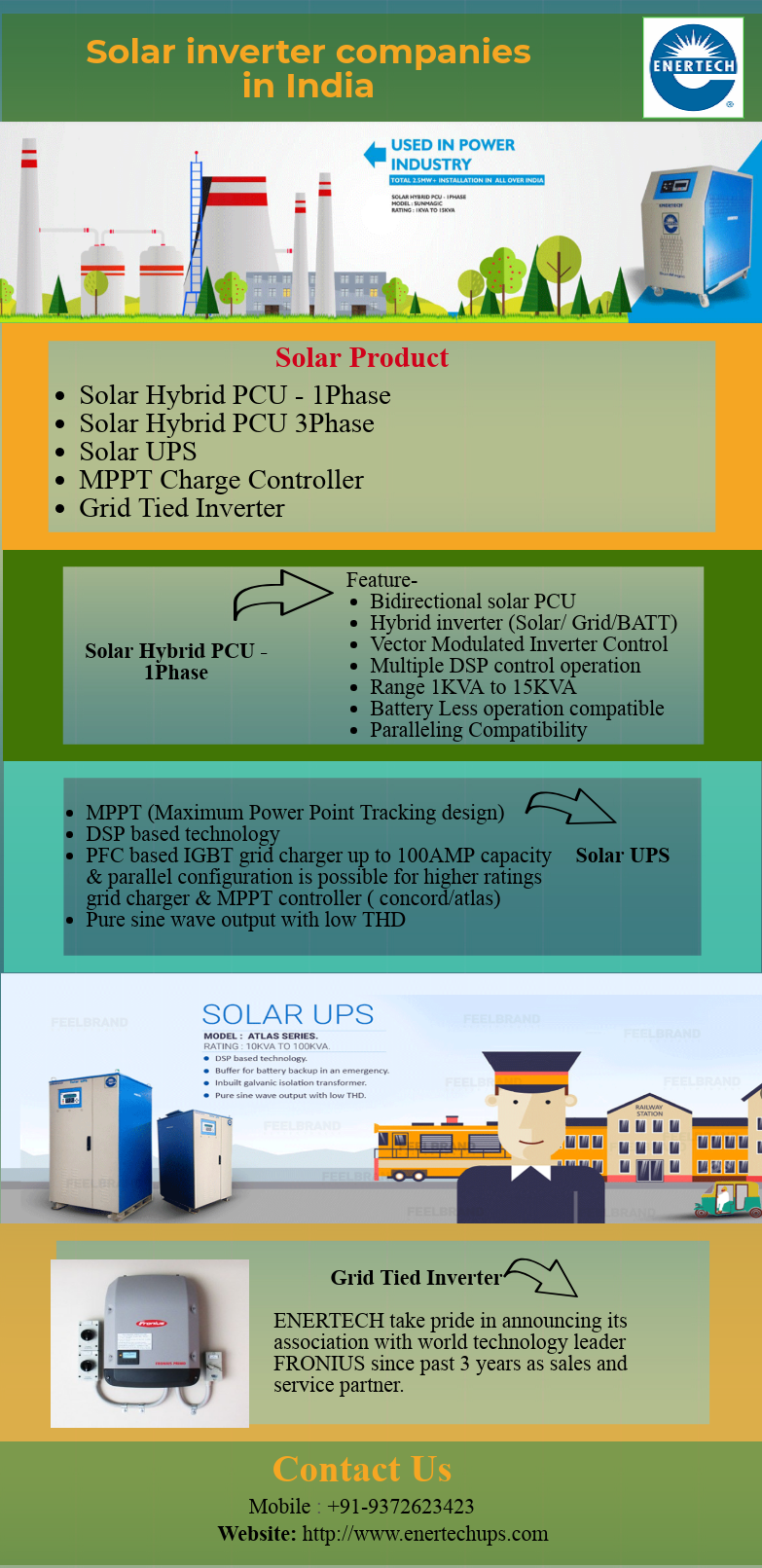 Enertech Is Leading Manufacturer Brand In Solar Inverter Companies In India Sun Magic Is A State Of Art Pcu Product Fr Solar Inverter Solar Led Manufacturers