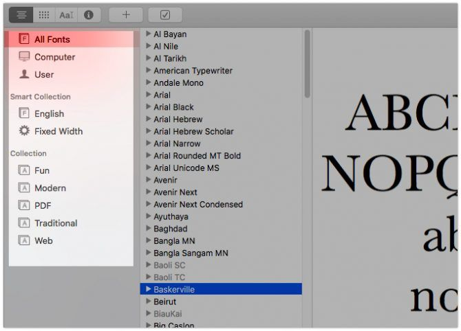 7 Font Book Tips for Managing Your Mac's Fonts | Mac OS Tips