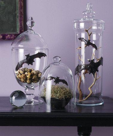 Take a look at this FLYING BAT GEL CLINGS by Martha Stewart Crafts - martha stewart halloween ideas