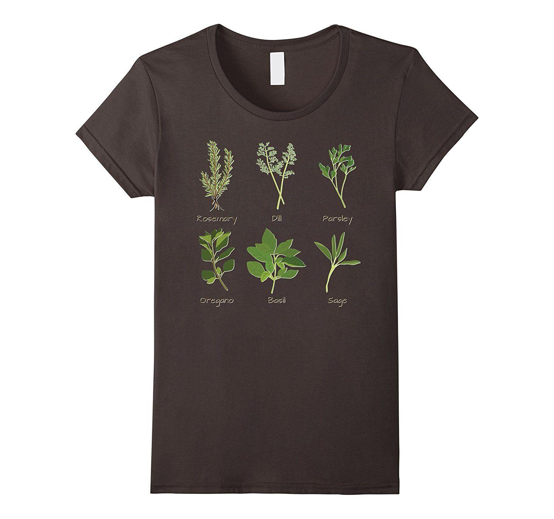 Amazon Com Herbs Shirt Plants Herb Gardening Gardener 400 x 300
