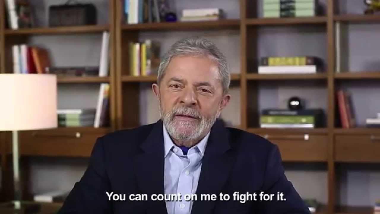 Mensagem de Lula ao Fórum Global de Nutrição Infantil 2014