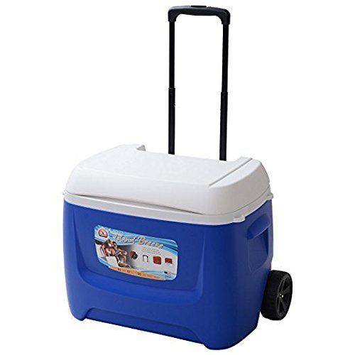 Igloo Island Breeze 60 Roller Cool Box-Red--70 49 Check more at