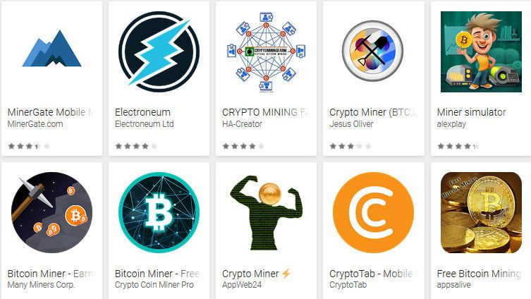 cryptocurrency mining types