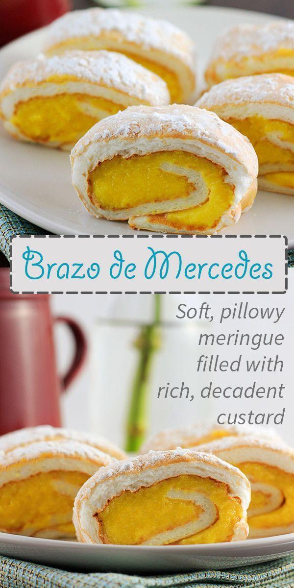 Brazo de Mercedes Recipe - The Unlikely Baker