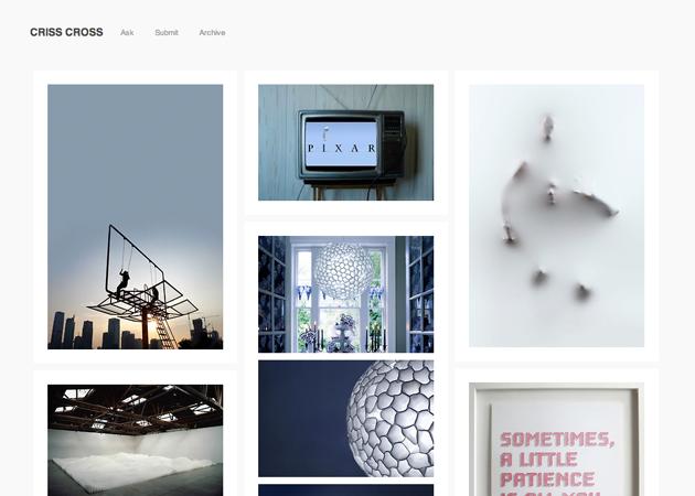 Tumblr - criss cross - level82   THEMES: WORDPRESS // TUMBLR ...