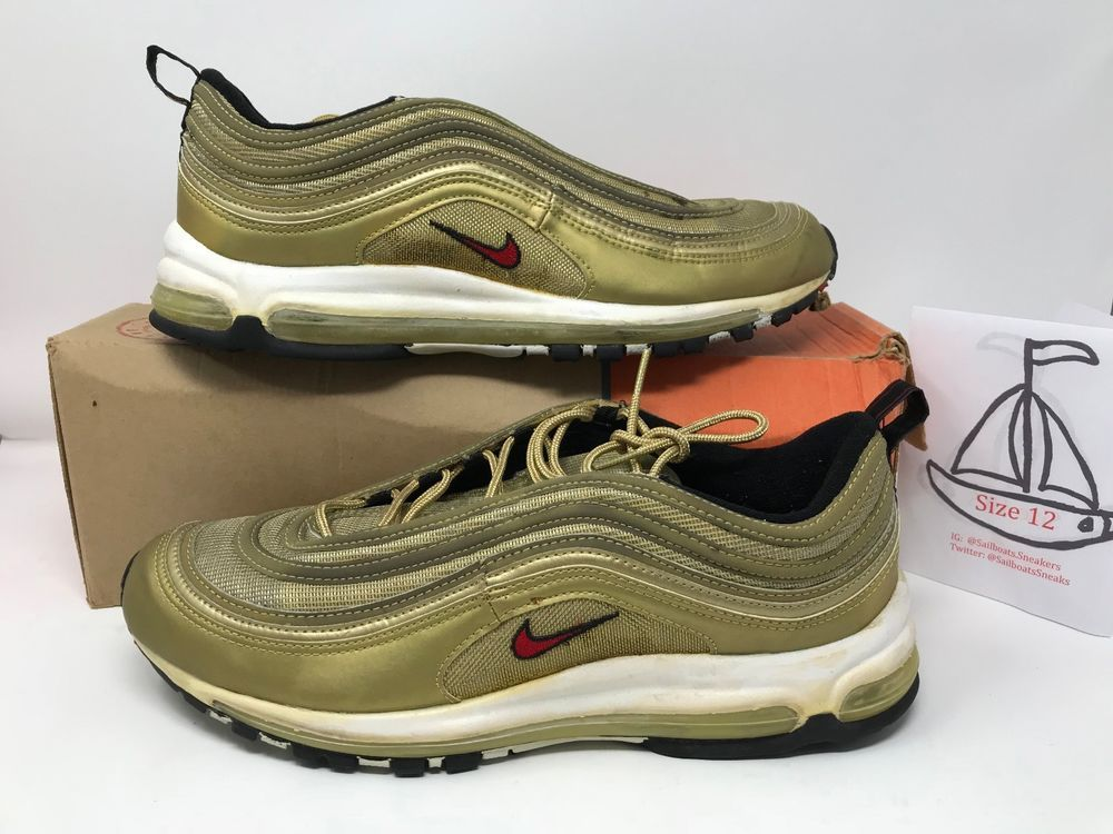 Nike Air Max 97 SC 1999. Sz 12. OG Box. 7/10 Condition