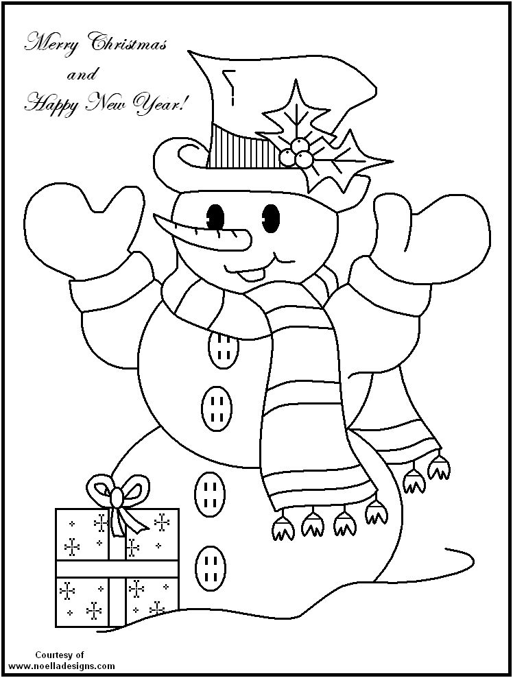 Free Printable Christmas Coloring Pages Fun For All Ages Printable Christmas Coloring Pages Snowman Coloring Pages New Year Coloring Pages