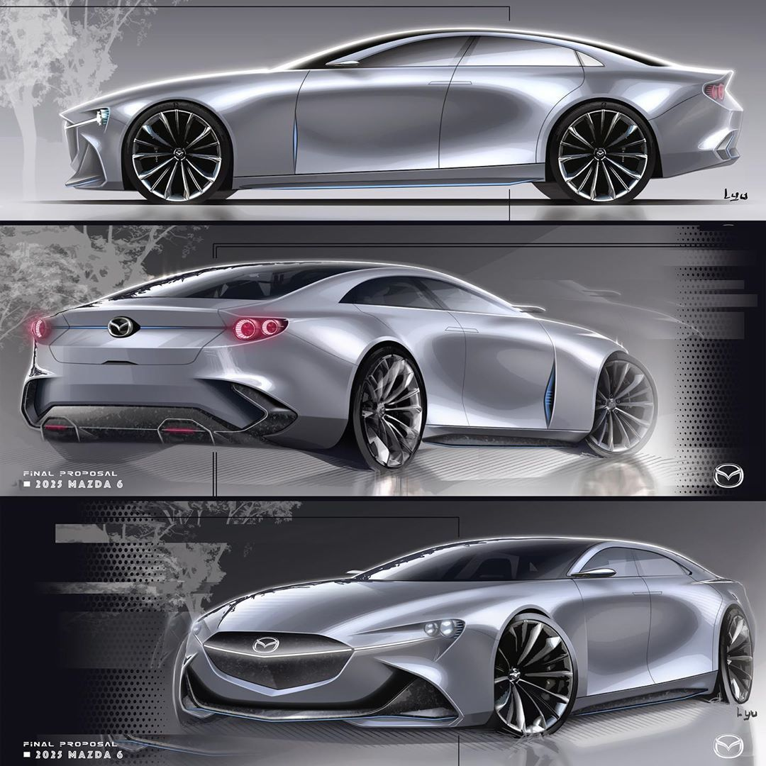 146 отметок «Нравится», 2 комментариев — 李昱 (@yurileeee) в Instagram: «design for fun. 5days sketch project #carsketches #carbodydesign #cardesigndaily #cardesignworld…»