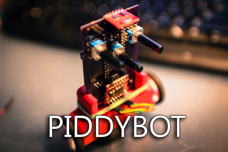 PIDDYBOT – A Self Balancing Teaching Tool.