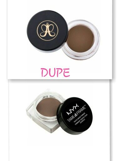 Anastasia Beverly Hills Dipbrow Pomade Dupe Nyx Tame