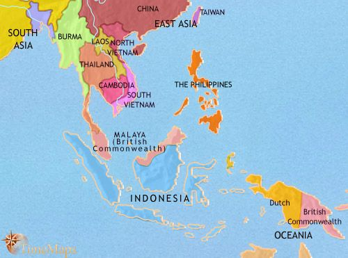 History map of south east asia 1960ad world history pinterest history map of south east asia 1960ad gumiabroncs Choice Image