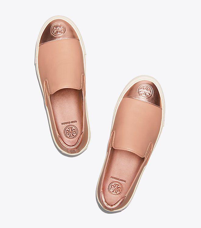 91437a94f9f9d3 Tory Burch Color-block Metallic Slip-on Sneaker   Women s View All ...