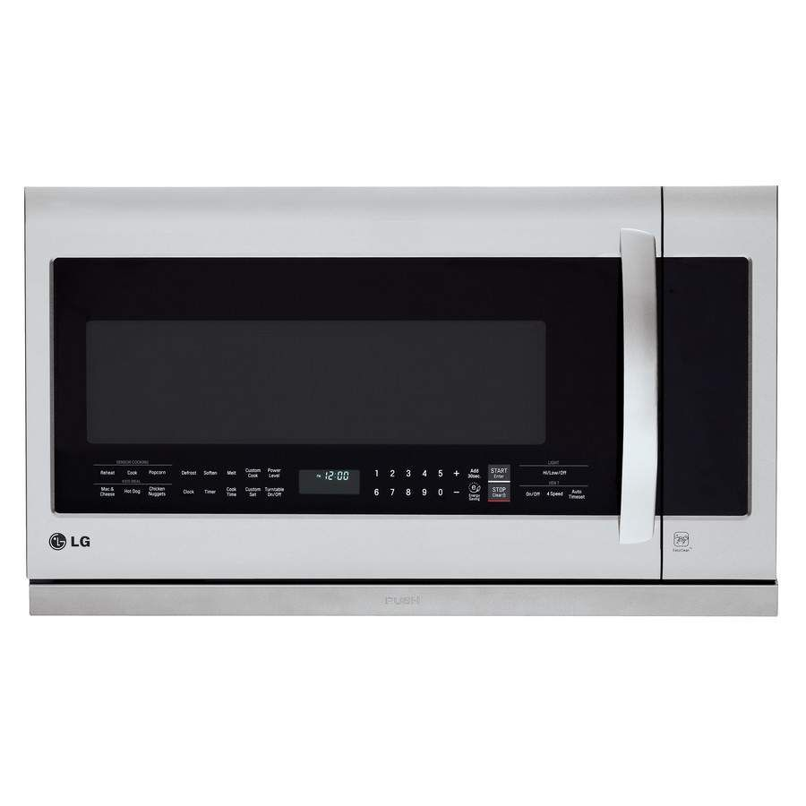 Lg Smart Microwave Oven