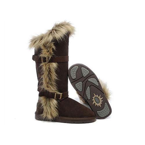 ugg fox fur 1984 boots chocolate 135 65 ugg lexi pinterest rh pinterest com