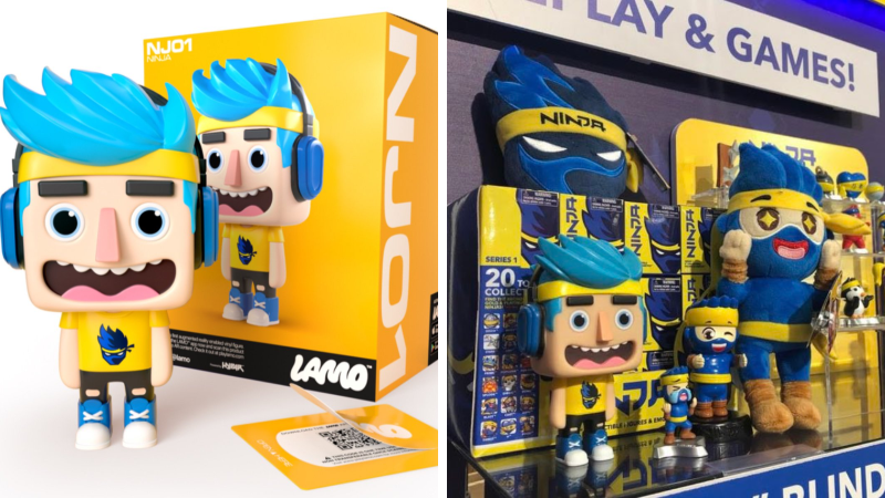 Millionaire twitch streamer, Ninja, is getting his own toy