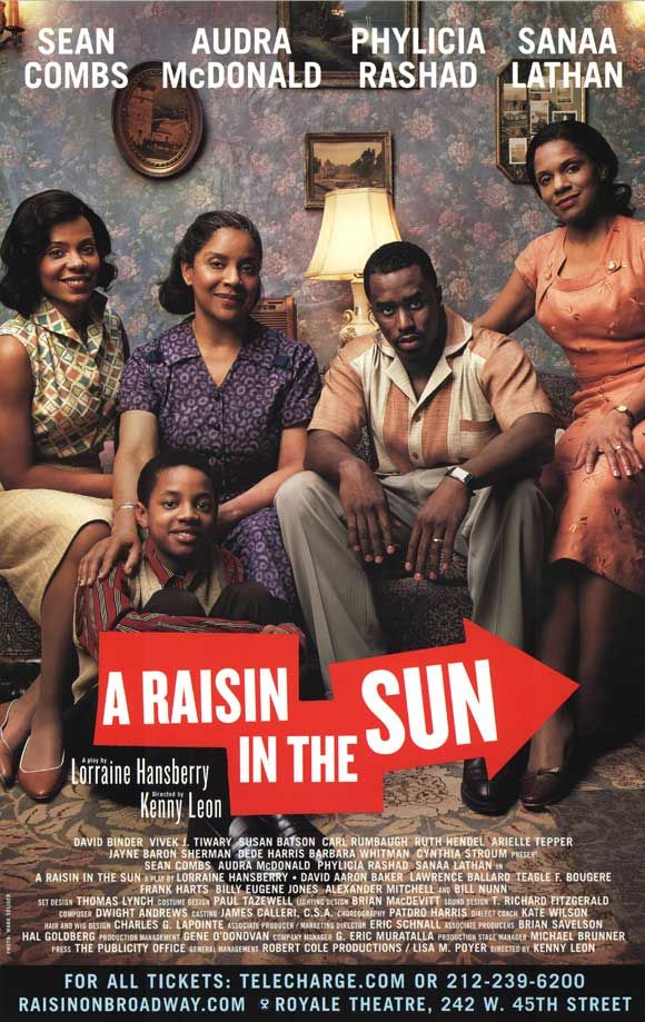 raisin sun play vs movie Read this full essay on raisin in the sun- play vs movie the film did a very  good job of portraying the emotions the characters were experiencing during t.