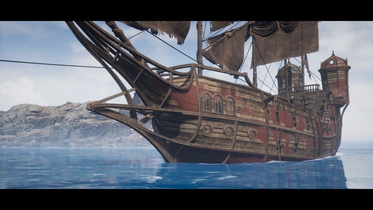 ☑️ Pirates Island (Speed Level Design / Unreal Engine 4)   3d
