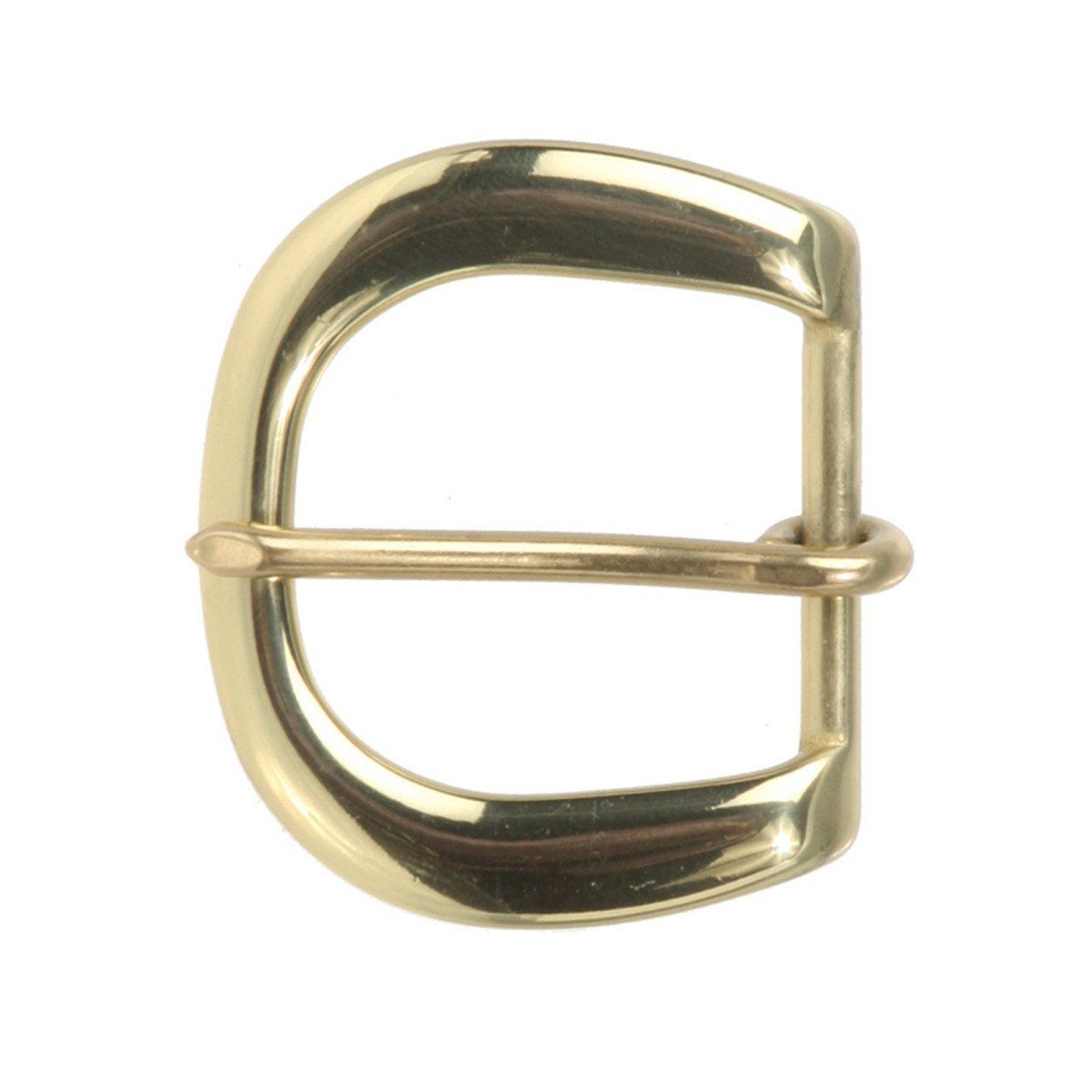"1/"" Solid brass Belt Buckle"