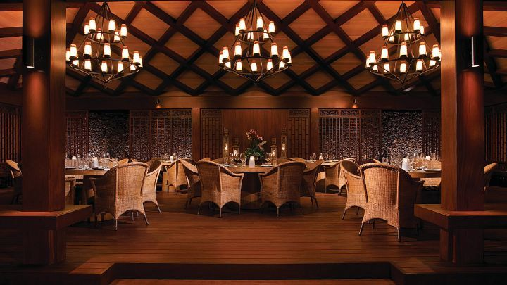 Beach Tree Restaurant at Four Seasons Resort Hualalai offers