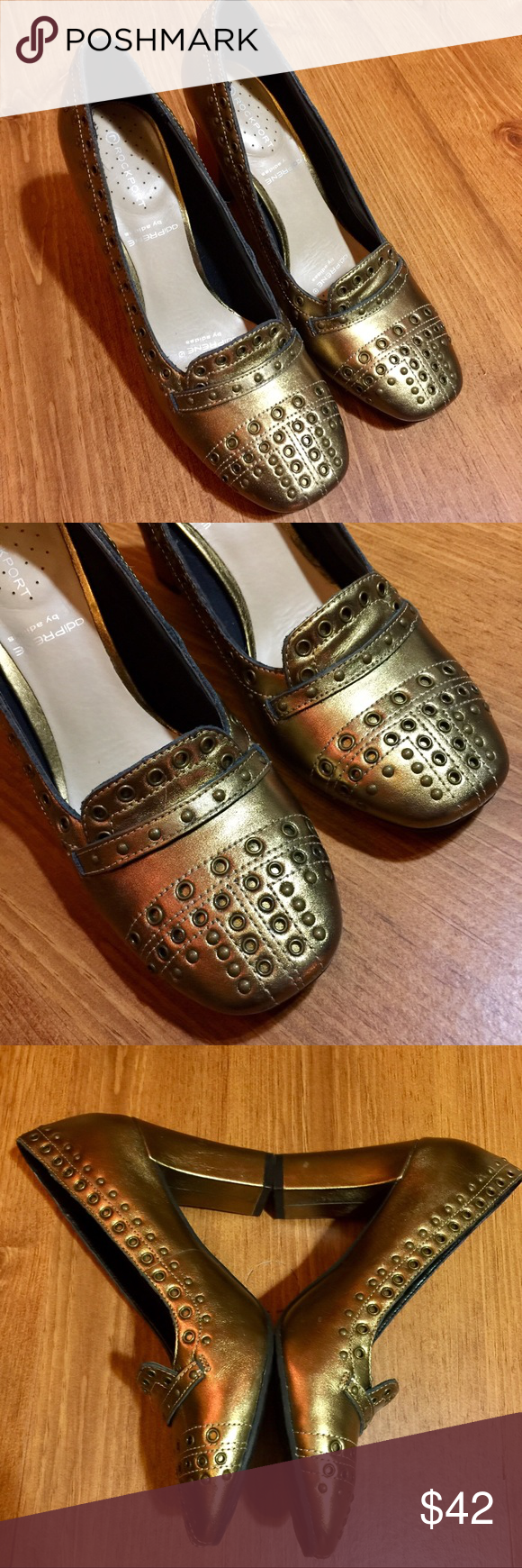 Rockport Studded Pump in Copper. New in the box and never worn. Size 6