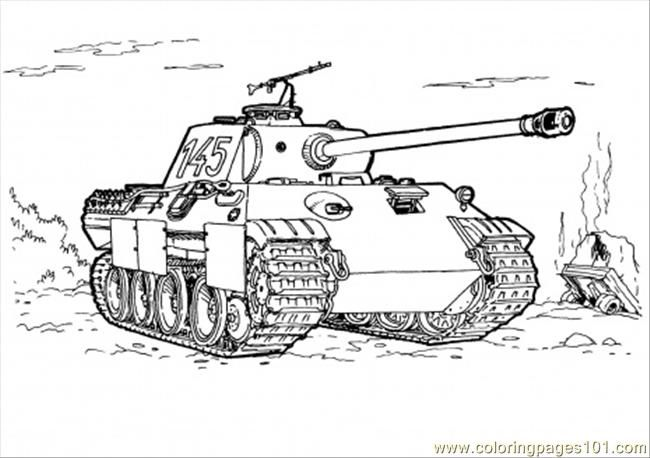 Tank Coloring Pages | Miscellaneous Coloring Pages | Pinterest