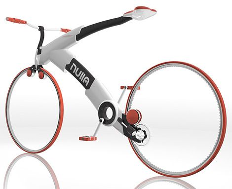 Nulla Bicycle: A New Take On Bike Design | Bicicletas | Pinterest ...