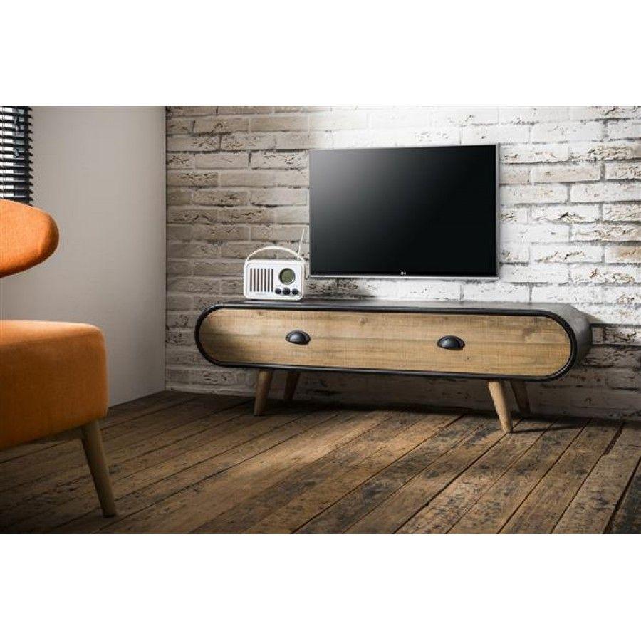 wohnzimmermobel palisander : Zinjin Z Industrial Tv Unit Tv Units Pinterest Tv Unit And