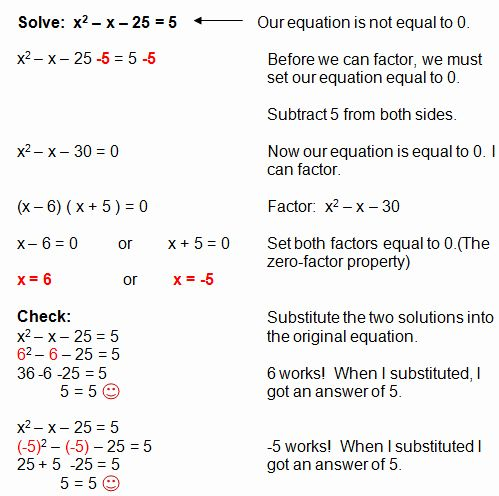 Solve by Factoring Worksheet Elegant Factoring Quadratic ...