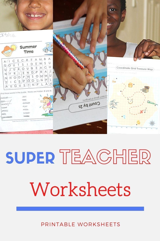 Super Teacher Worksheets Super Teacher Worksheets Teacher Worksheets Super Teacher [ 1500 x 1000 Pixel ]