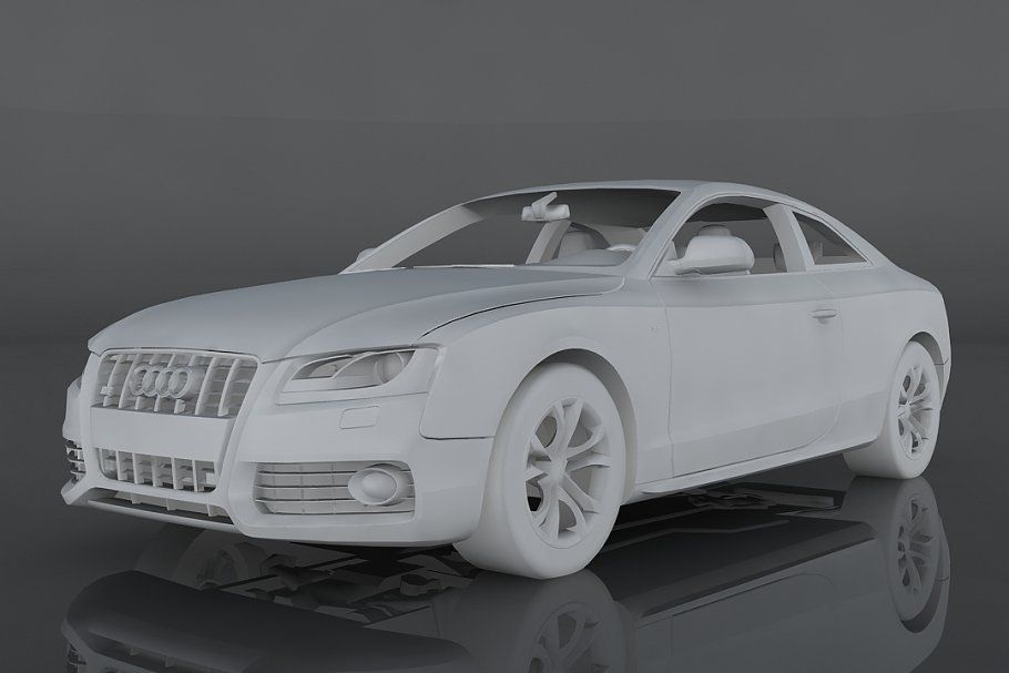 Audi S5 Audi S5 Audi Low Poly 3d Models