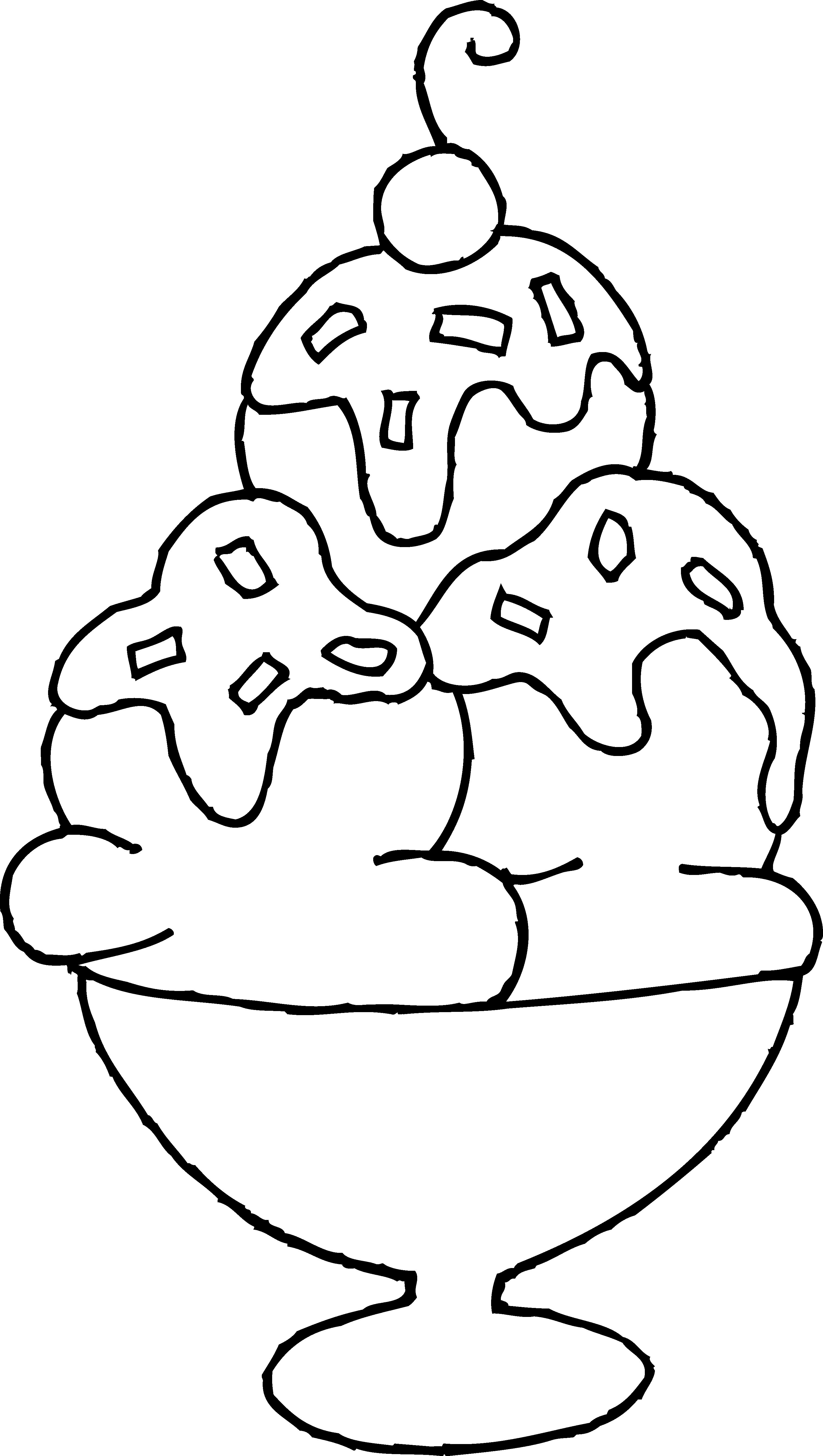 Magnificent Ice Cream Sundae Coloring Page Ice Cream Coloring Pages Free Coloring Pages Truck Coloring Pages