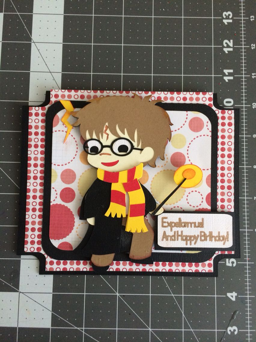 Harry Potter birthday card Harry potter birthday cards