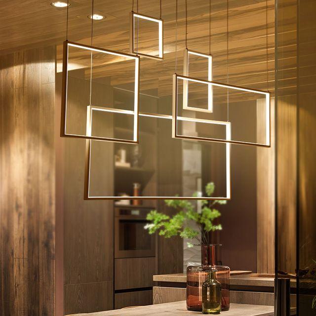 DIY Minimalismus Hängen Moderne Led Pendelleuchten Für Esszimmer - leuchten fürs wohnzimmer