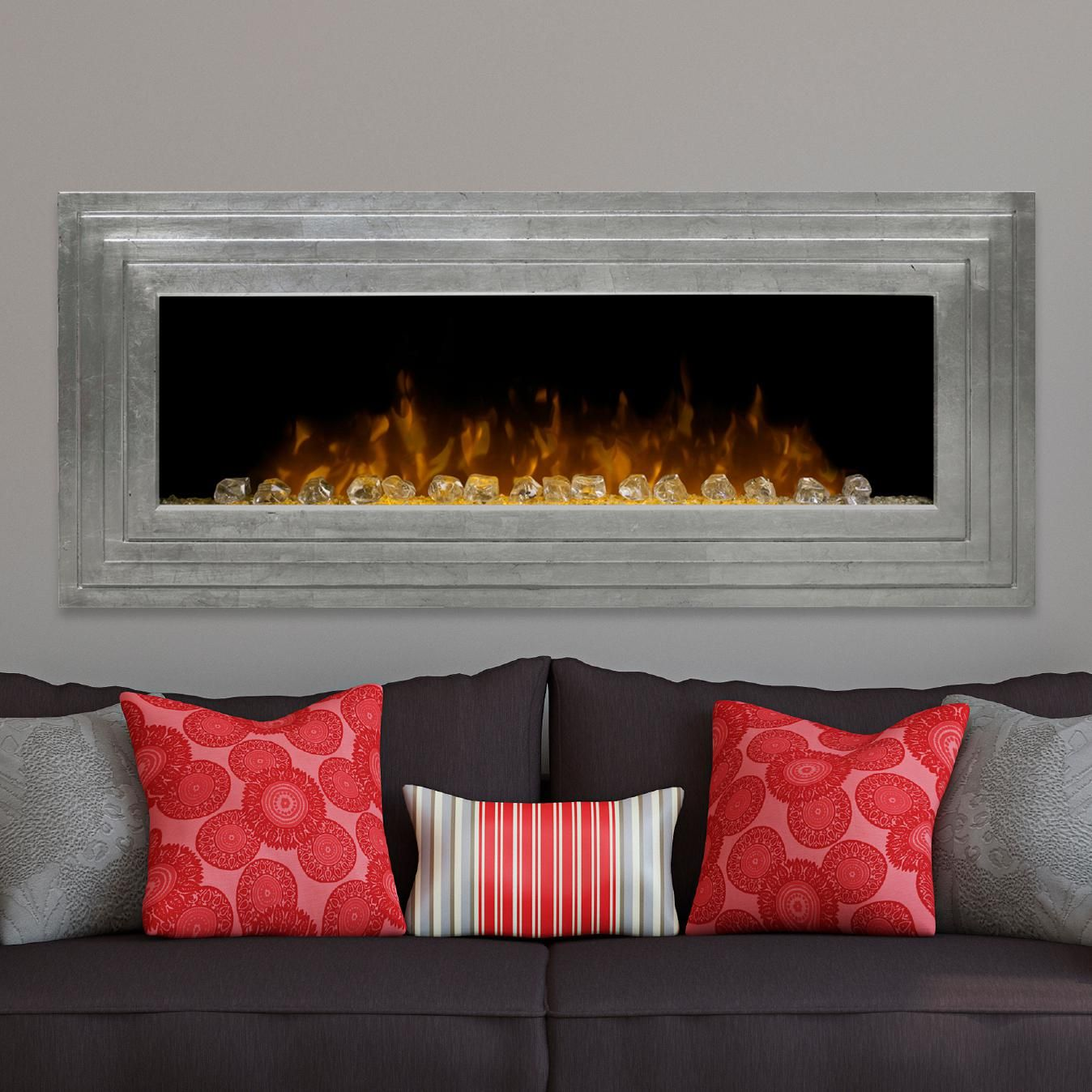 Dimplex Ashmead 52 Inch Wall Mount Electric Fireplace Swf42ag