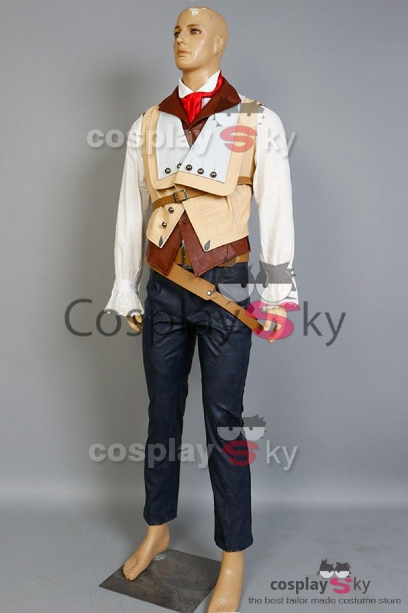 Assassin S Creed Unity Arno Dorian Outfit Cosplay Costume 1