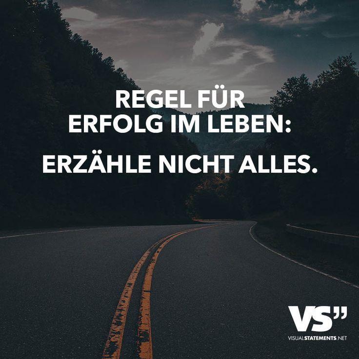 Regel für Erfolg im Leben: Erzähle nicht alles - #alles #Erfolg #Erzähle #für #im #Leben #nicht #Regel #snapchat