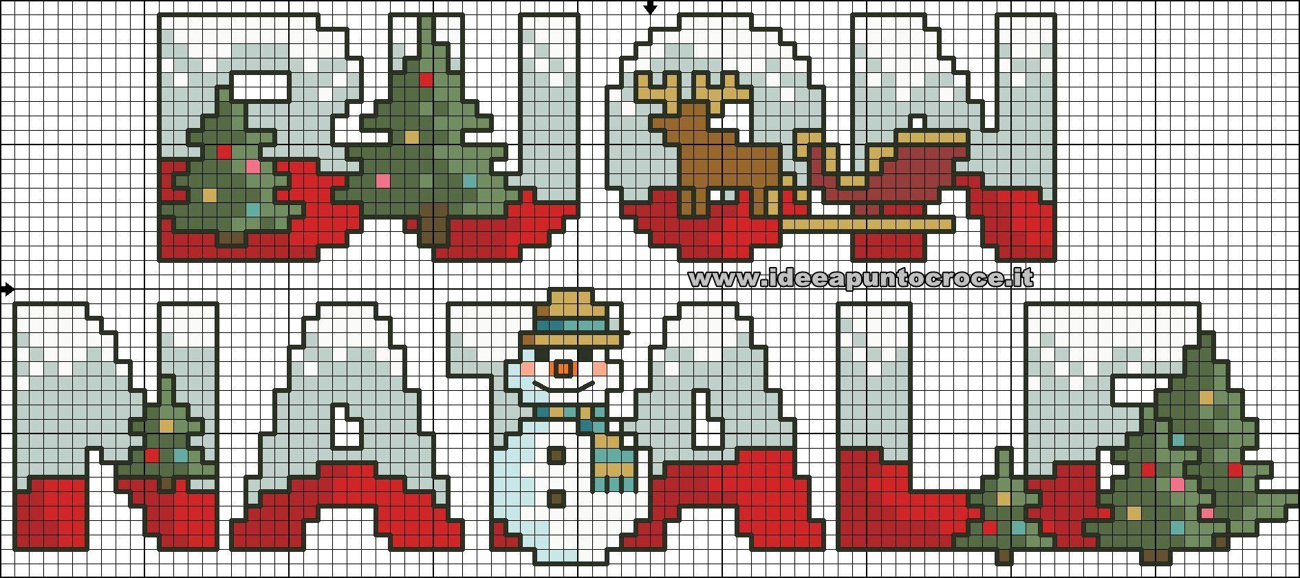 Piccolo Schemi Punto Croce Natale.Schema Punto Croce Scritta Buon Natale Punto Croce Punto Croce Natalizio Ricamo A Punto Croce